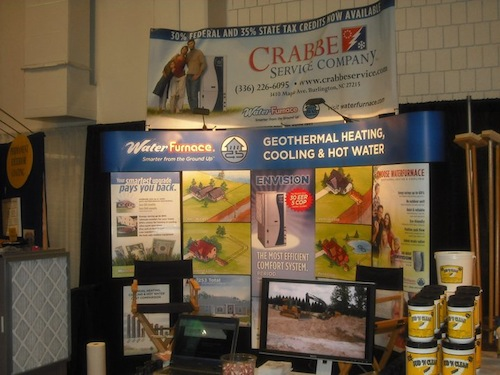 Crabbe Service at the Southern Ideal Home Show