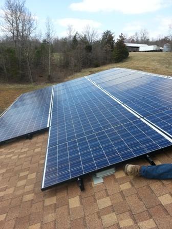 Greer Solar Install