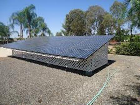 Ground Mounted Solar