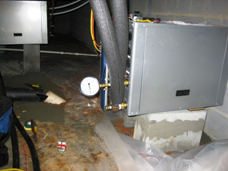 Deatherage Geo Thermal Install